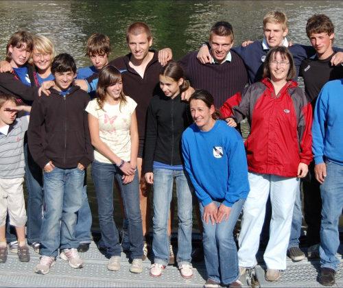 Der Saarburger Ruderclub und die Rudergesellschaft Trier, zusammen in Bad Ems