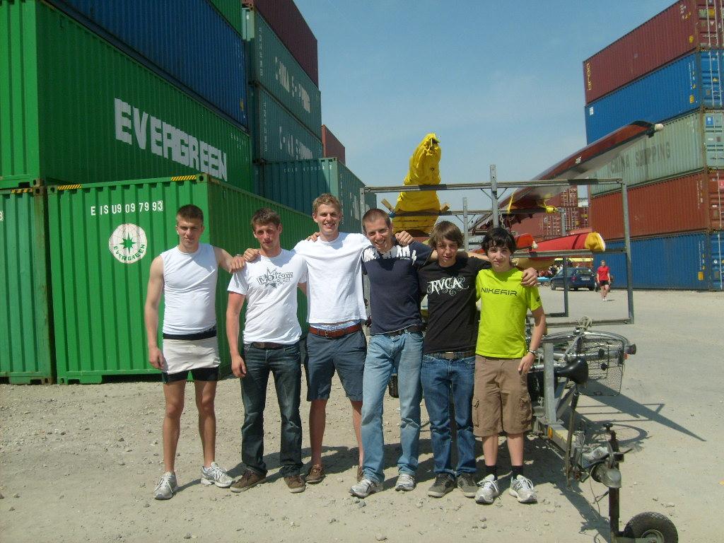 Mannheim 2009 Saarburger-Ruderclub führt außer Konkurrenz