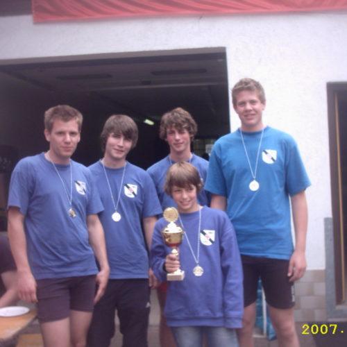 14. Saar Ruder Regatta in Saarburg 2007 & Kinder Landesentscheid